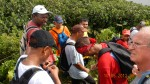 le groupe de marcheurs aacn arrivé au sommet de la madeleine