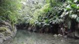 Une vue de la rivière de Grand bassin