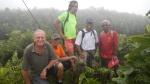 le groupe de reconnaissance au sommet de la madeleine