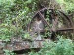ruines d'une ancienne exploitation sur la trace de grande-pointe à trois-rivières
