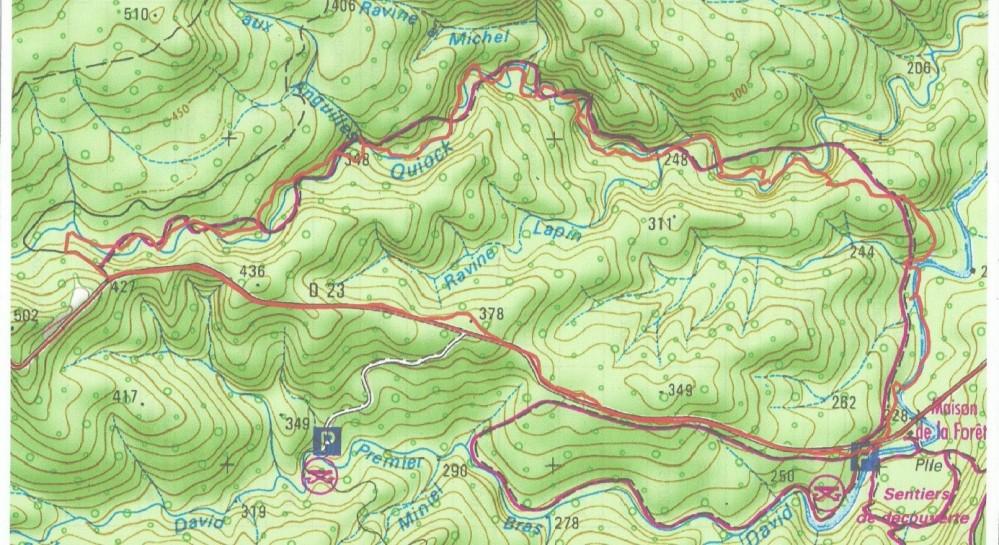 La Trace de la Rivière Quiock (1/2)