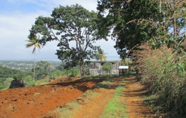 Habitation visible sur le tracé du parcours