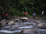 Le bord de la rivière