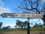 """Panneau """"Point de vue de Falaise"""""""
