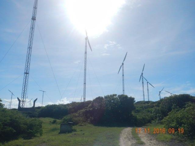 Les éoliennes de Saint-Francois