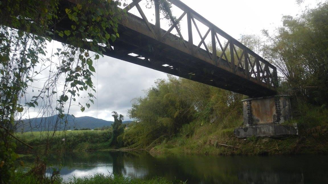 Pont Moko à Sainte-Rose