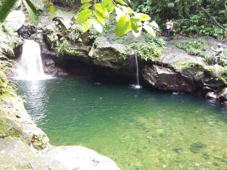 Le bassin de Paradise ou bassin Lauriette