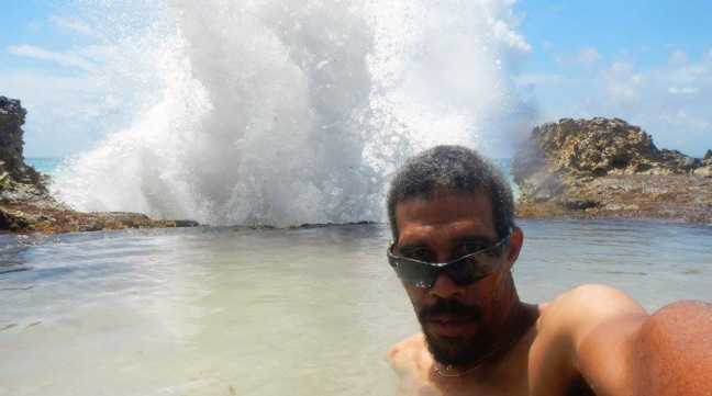 La douche sur le littoral de Saint-François